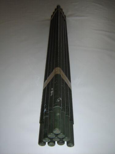 Estacas de valla empalarlo MCA 30 barras tubo kunststoffpfahl kunststoffpfähle pilotes