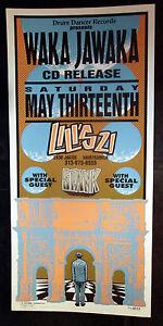 Rare-Mark-Arminski-Spank-Waka-Jawaka-1995-Silkscreen-Concert-Poster