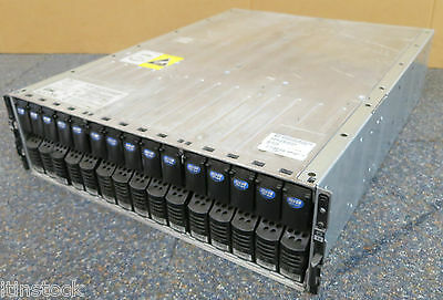 Emc Kae Storage Array 005048494 + 15x 300 Gb 10k Hdd Controller 2x 2x Psu W4572-