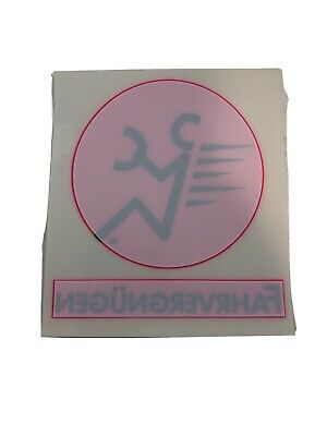 Vintage Vw Volkswagen Fahrvergnugen Decal Neon Pink Free Ship Nos Ebay Магазин наклеек sticker777.ru предлагает наклейки на автомобиль марки фольксваген: ebay