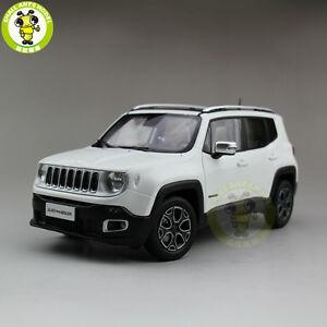 1 18 Jeep Renegade Cherokee Diecast Metal Car Suv Model Collection