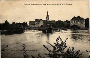 CPA Env. de CHATEAU-du-LOIR - NOGENT-sur-LOIR - L'Ecluse (299386)