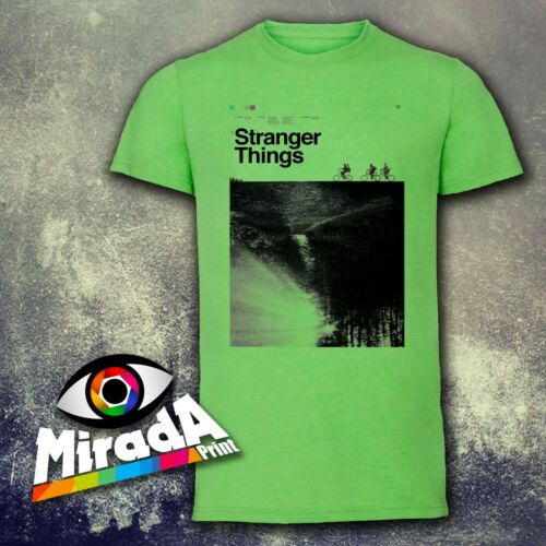 T-SHIRT MAGLIETTA MODA STRANGER THINGS 1 ST EDITION 2016 CONCEPCION STUDIOS TOP