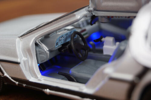 LED Beleuchtung Kit 11-15V weiß komplett verdrahtet für Slotcars 1:24//1:32