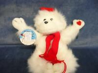 Vintage Antique Retro Russ Berrie Talking Moving Winter mumbles Toy Doll