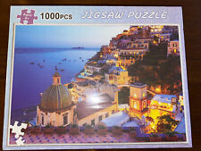 Amalfi Coast Jigsaw Puzzle Dreamy Positano Signature Collection Twilight Sea Sight Landscape Pattern Puzzle Toy Adults Game Interesting 1000 Piece Educational Toys Personalized Gift Home Indoor