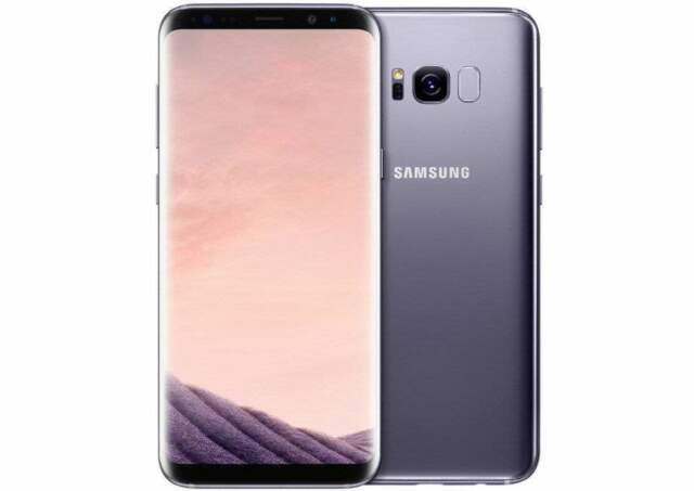 "New Imported Samsung Galaxy S8 Duos 64GB 4GB 5.8"" Octa-Core 4G LTE Grey Color"