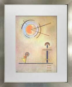 Wassily KANDINSKY Original Lithograph Limited Edition 1965 w/FRAME Included