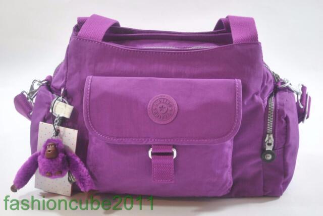 6a6754ddc3e New KIPLING FELIX (FAIRFAX) Large SHOULDER/CROSSBODY BAG HB3711 525-Purple  Dahli