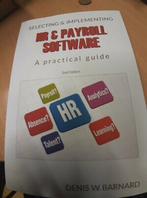Selecting /& Implementing HR /& Payroll Software A Practical Guide