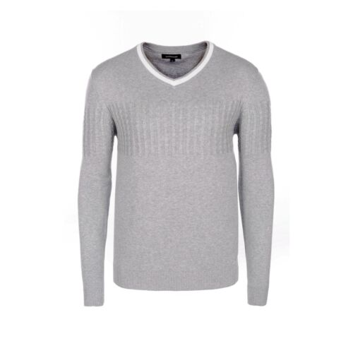 Men/'s Cotton Jumpers Patterned Casual NATURAL SOFT FINE KNITWEAR Regular M XL