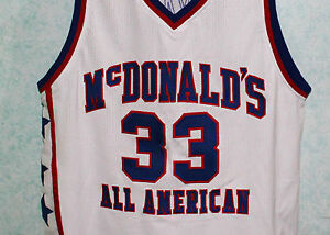 official photos 9164d 0d77b KOBE BRYANT McDONALDS ALL AMERICAN JERSEY AUTHORIZED ...