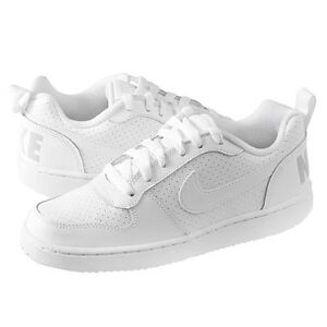 best service 2133b f9a04 Image is loading Nike-Court-Borough-Low-Casual-GS-839985-100-