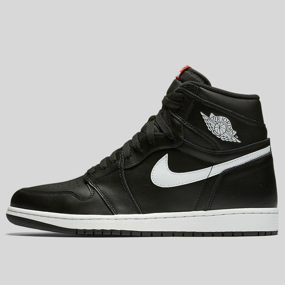 Nike Air Jordan 1 Blanco retro High Og Negro Blanco 1 Yin Yang tamaño 12.555088-011 b1edcf
