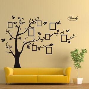 mode baum wandaufkleber wandsticker dekoration wandtattoo. Black Bedroom Furniture Sets. Home Design Ideas