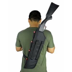 Image Is Loading Tactical Shotgun Scabbard Bag Molle Shoulder Sling Case