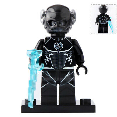 New Comp. DC Lego Minifigure Zoom Black Flash From The CW Show The Flash