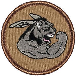 Cool Boy Scout Patches- Tough Donkey Patrol! (#343)