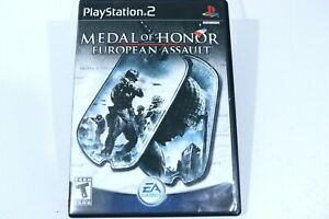 Medal-of-Honor-European-Assault-PlayStation-2-War-Game-Complete-Manual-amp-Case
