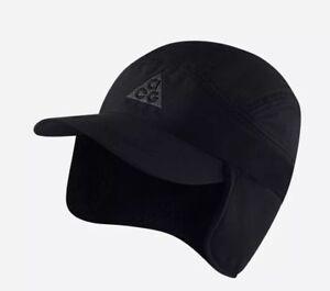 Nike ACG Sherpa Collection Triple Black Hat Cap QS NikeLab Supreme ... 6e0556f3308