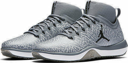 Jordan Mens Trainer 1 Cool Grey/Black-Infrared 23 SZ-10 845402-002 MSRP 140