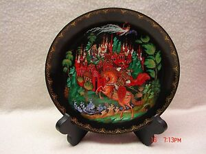 Russian-Made-Collectors-Plate-Rusian-and-Ludmilla-Limited-Edition