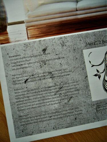 "Wall Tattoo Wall Art Deco Set /""Heart Romantic Love/"" STICKER /""Made in Germany/"""