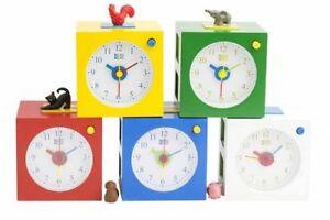 Kookoo Kinderwecker Kids Alarm Tierstimmen Neu/ovp Kinder Wecker 5 Tierfiguren HöChste Bequemlichkeit