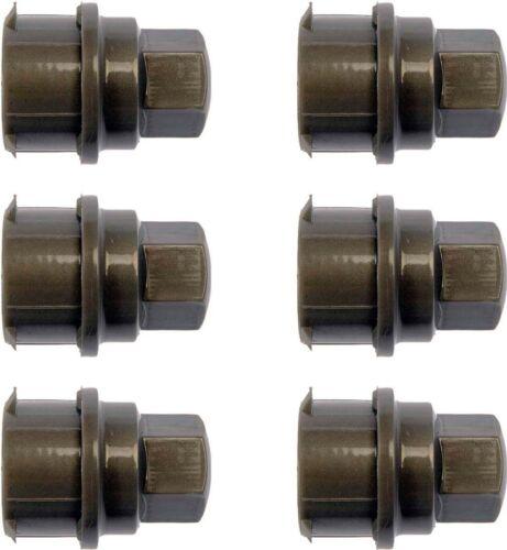 Set of 6 Fits GM Wheel Lug Nut Covers # 9593232 9594437