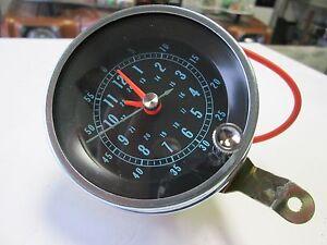1966 67 Chevelle New Floor Shift Console Clock Ebay