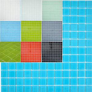 Détails sur Glasmosaik Carrelage Blanc MINZGRüN KIWI bleu Gris Rouge Noir  De Cuisine Mur | Gênes- afficher le titre d\'origine
