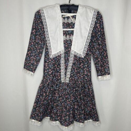 Vintage Gunne Sax Dress Girls McClintock Prairie … - image 1