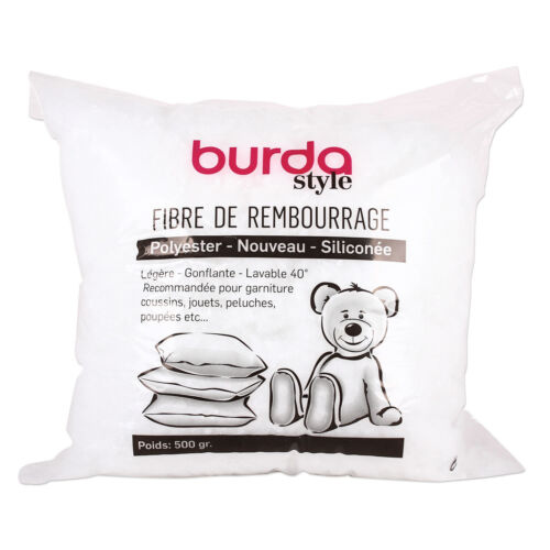 Burda Füllwatte, Bastelwatte, Füllmaterial für Decken Kissen Teddys 500 g  #8869