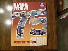 Nascar Winston Cup Napa 75th Anniversary Motorsports Planner for 2000