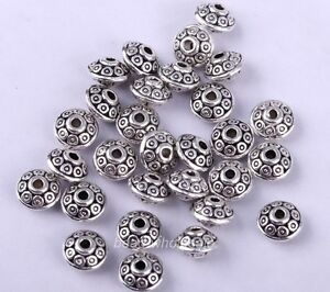100pcs-Antique-Fashion-Tibetan-Silver-Spacer-Beads-6-5mm-For-Jewelry-Making-LYO