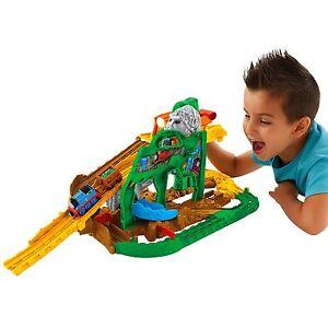 Thomas & Friends Fisher-Price Thomas the Train Take-n-Play Jungle Quest