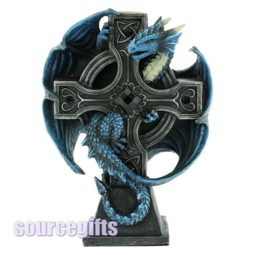 NEW DRACO CANDELA ANNE STOKES DRAGON CANDLE HOLDER A NEMESIS FIGURE STATUE