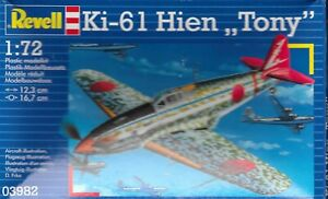 Revell-1-72-IJA-Ki-61-Hien-Tony-fighter-WW2-KIT