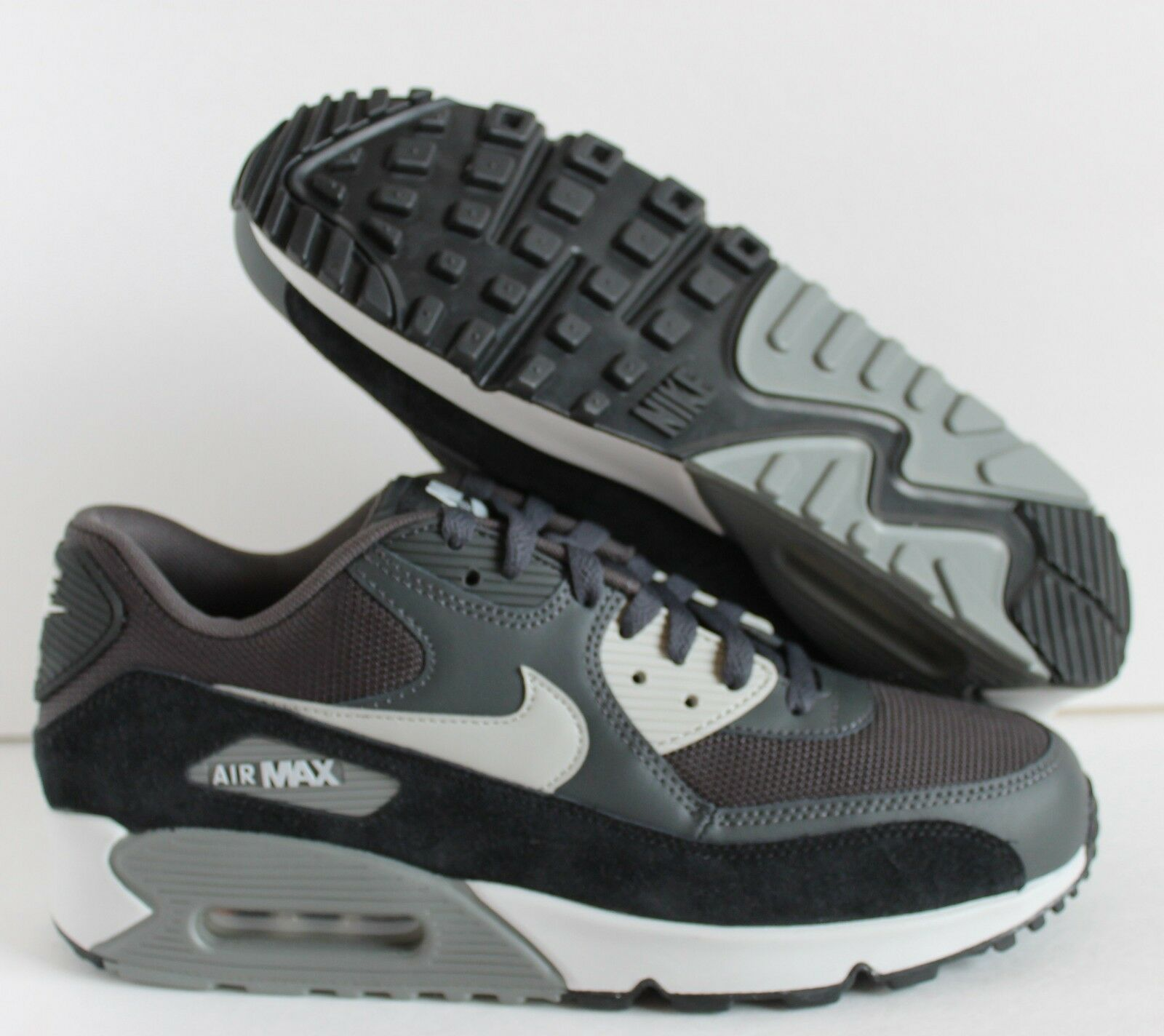 Nike Air Max 90 ESSENTIAL Anthracite-Granite- Noir SZ 13