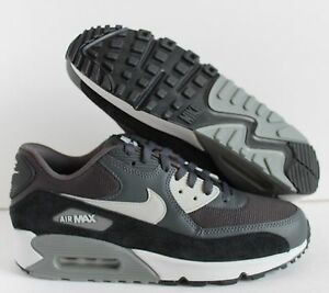 the best attitude 2aac5 ea0fa Image is loading Nike-Air-Max-90-ESSENTIAL-Anthracite-Granite-Black-