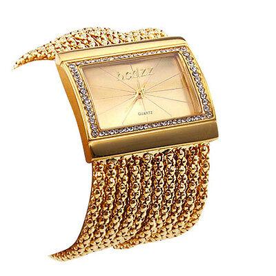 Brand New Fashion Crystal Analog Quartz Stainless Steel Lady Women Wrist Watch