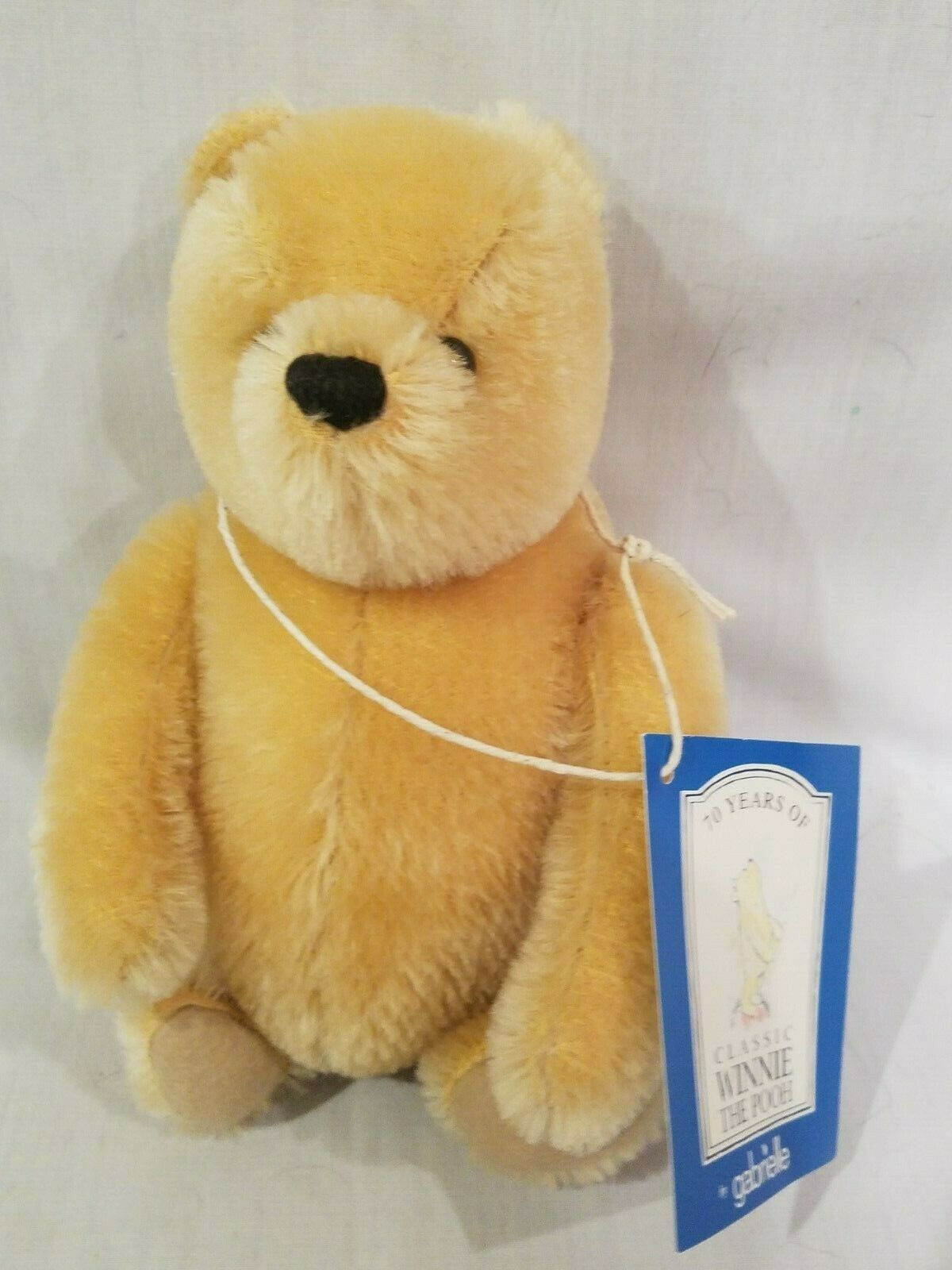Gabrielle  Winnie The Pooh Mohair Fully Jointed very cute Quality Bear 61 of 500