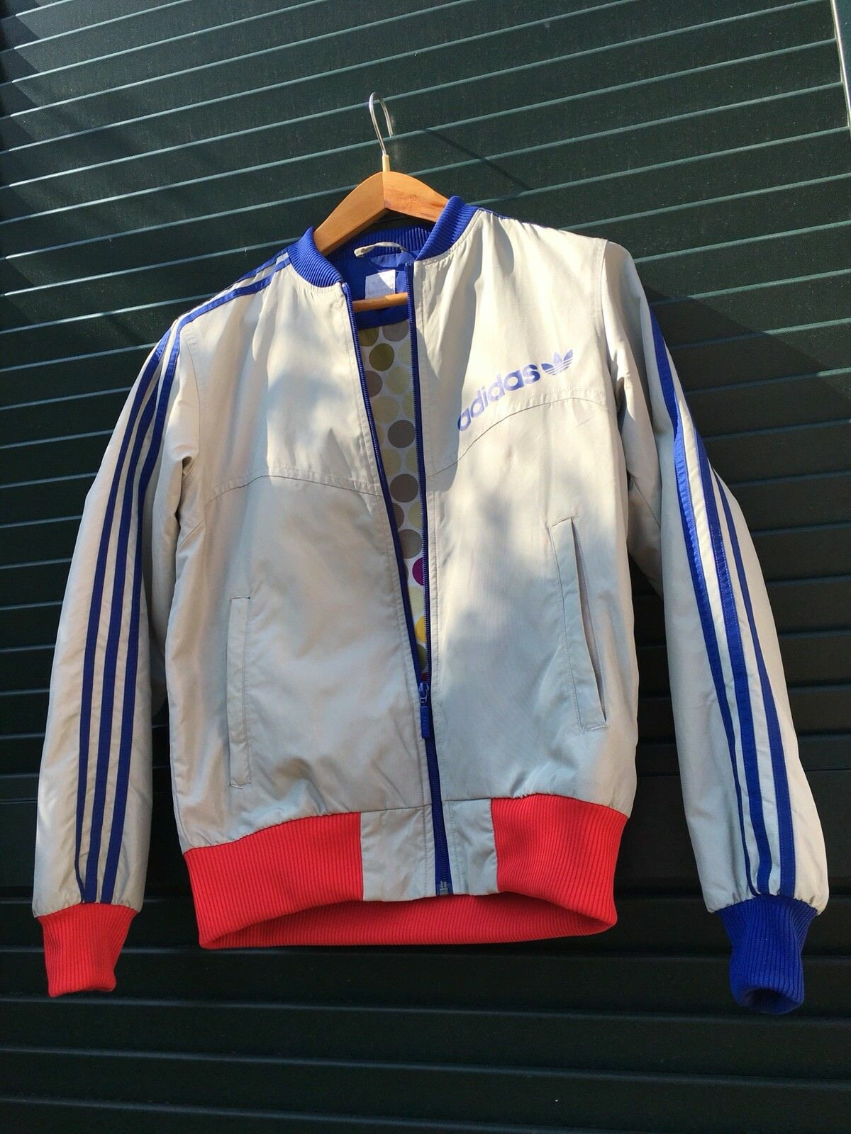 Adidas veste XS S resume collection 1980 year 2004 vintage nouveau GIACCA 80's