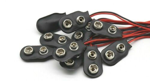 6f22 9v battery connectors wires lg 70 mm tinned for cards or terminals