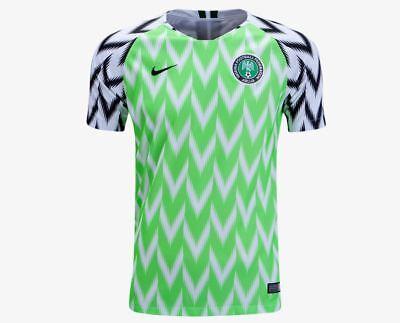 Nike Kid/'s 2018 NIGERIA HOME STADIUM FOOTBALL SOCCER T-Shirt Jersey 894010-100 c