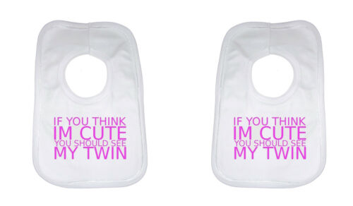 Si vous pensez que im mignon vous devriez voir mon bébé TWIN SET BAVOIRS grand cadeau ou présent