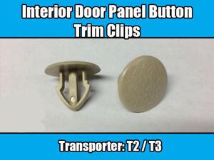 20x Clips For VW Beetle T1 T2 T3 Transporter Camper Van Interior Door Panel Trim