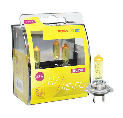 PTZSW11-DUO 2pcs Powertec SuperWhite H11 Bulb Set 55W 12V Halogen Headlight