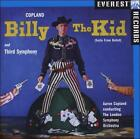 Copland: Billy The Kid; Third Symphony (CD, May-2008, Everest)