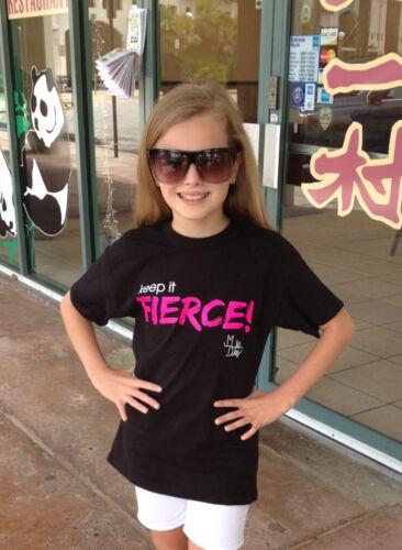 Mia Diaz Original Keep It Fierce T Shirt
